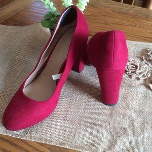 Merona Red Heels